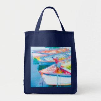 Row Boats Tote Bag