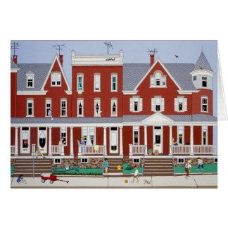 Row Houses Card