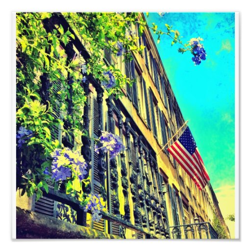 Row Houses Photo Art