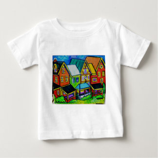 Row Houses Vermont T Shirt