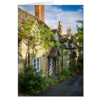 Row of cottages in Winchcombe, Gloucestershire 2 Card
