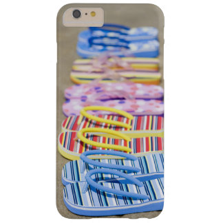 Row Of Flip-Flops Barely There iPhone 6 Plus Case