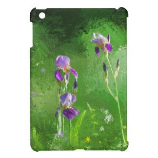 Row Of Irises iPad Mini Cover
