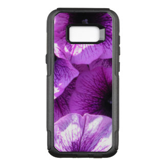 Row of Purple Wave Petunias OtterBox Commuter Samsung Galaxy S8+ Case