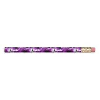Row of Purple Wave Petunias Pencil