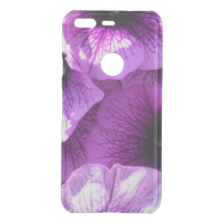 Row of Purple Wave Petunias Uncommon Google Pixel Case