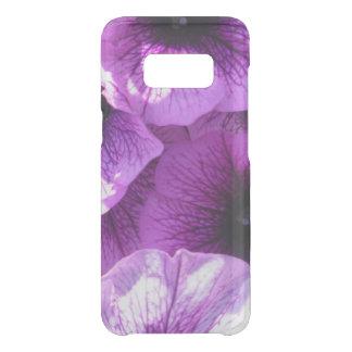 Row of Purple Wave Petunias Uncommon Samsung Galaxy S8 Case