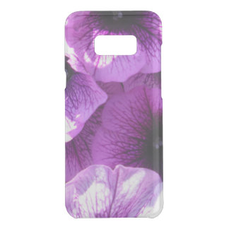 Row of Purple Wave Petunias Uncommon Samsung Galaxy S8 Plus Case
