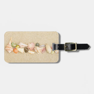 Row of Sea Shells Luggage Tag