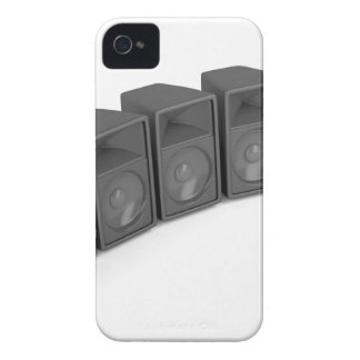 Row of speakers iPhone 4 cover
