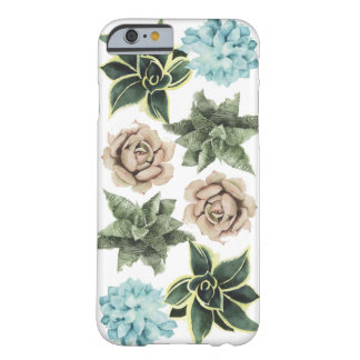 Row of Succulents Barely There iPhone 6 Case
