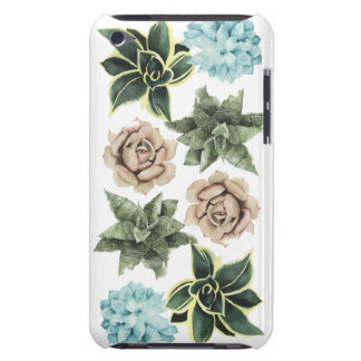 Row of Succulents Barely There iPod Cases