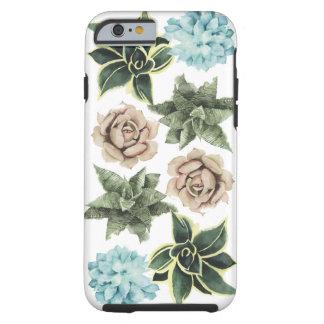 Row of Succulents Tough iPhone 6 Case