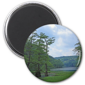 Row of Trees magnet