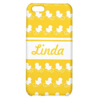 row of white ducks yellow iPhone 4 Speck iPhone 5C Cases