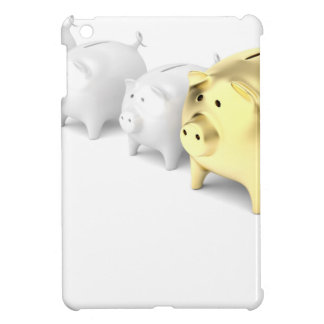Row with piggy banks case for the iPad mini