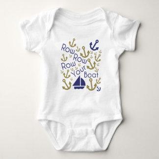 Row Your Boat Baby Bodysuit