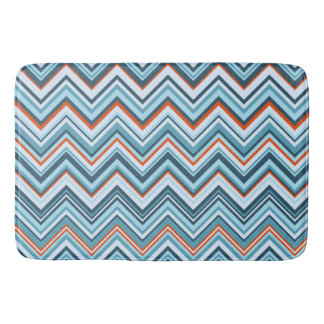 Rowanberry Winter Chevron Bath Mat