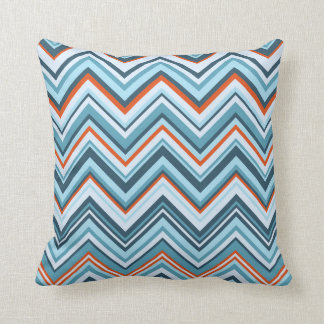 Rowanberry Winter Chevron Throw Pillow