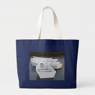 Rowboats Large Tote Bag
