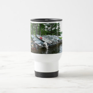 Rowboats Thermal Travel Mug