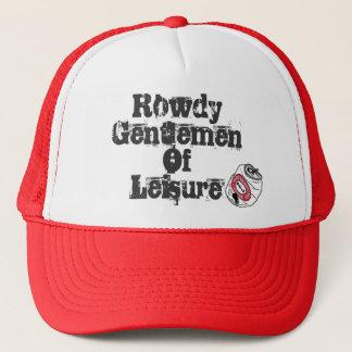 Rowdy in the truest sense of the word. trucker hat