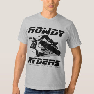 ROWDY Mens fitted tee