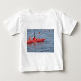 Rowed rescue catamaran at sea baby T-Shirt