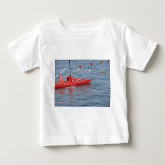 Rowed rescue catamaran at sea shirt