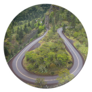 Rowena Crest Loops - Oregon Dinner Plate