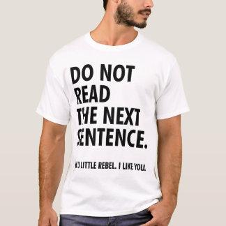 Rower Man Little Rebel T-Shirt