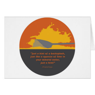 Rowing Backsplash Card