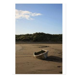 Rowing Boat Postcard