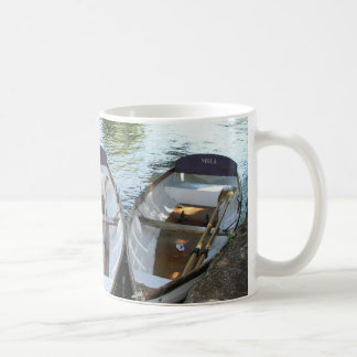Rowing boats at Stratford upon Avon, UK Classic White Coffee Mug