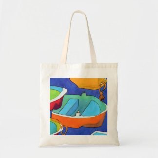 Rowing Boats Tote Bag