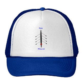 Rowing cox obey me sport trucker hat