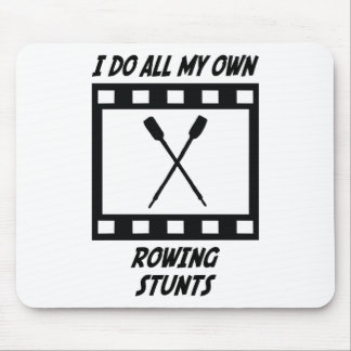 Rowing Stunts Mouse Pads