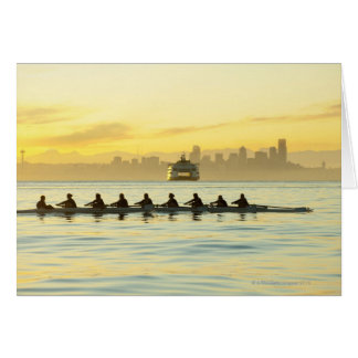 Rowing Team 2 Greeting Card