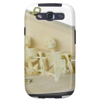 RowofSkeletonsCoffin070515 Galaxy SIII Cases