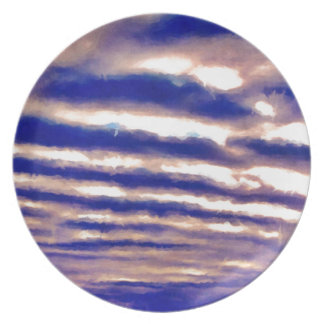 Rows of Clouds Plates