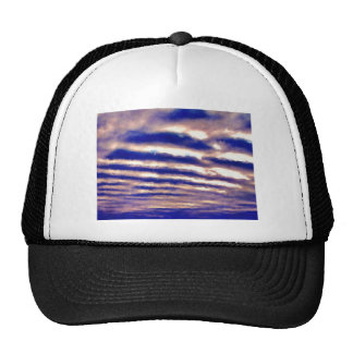 Rows of Clouds Trucker Hat