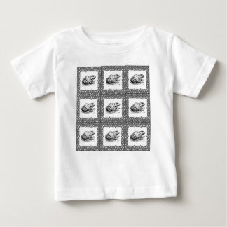 rows of frogs baby T-Shirt