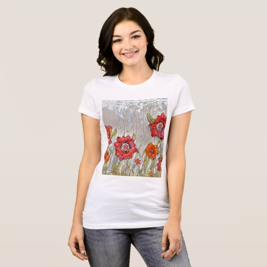 Rows of poppies Tshirt