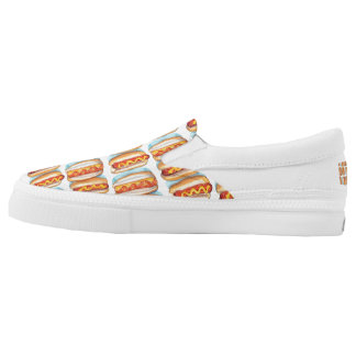 ROWS OF Zipz Slip On Shoes, US Men 4 / US Women 6