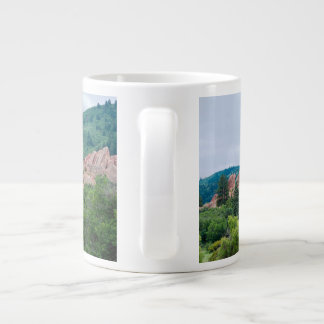 Roxborough Meadows Mountains and Spires Large Coffee Mug