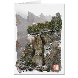 Roxborough State Park - Winter Scenic Card