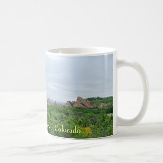 Roxborough Valley Woodland and Rock Forms Coffee Mug