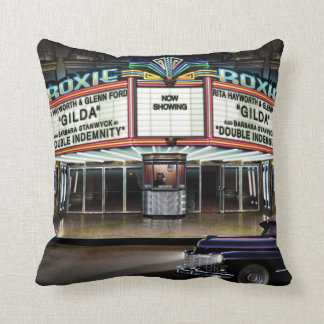 Roxie Picture Show Throw Pillow