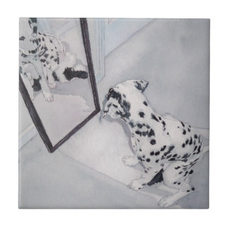 Roxie the Dalmatian Tile