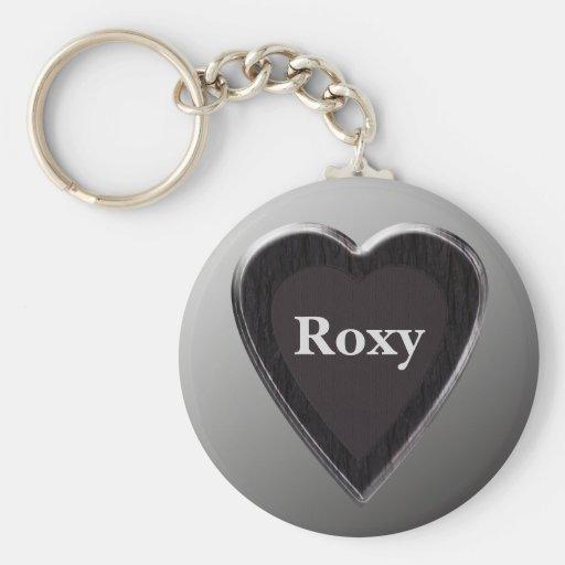 Roxy Heart Keychain